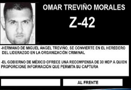 ¡Fuerzas federales capturan al Z-42, líder de los Zetas en Nuevo León!