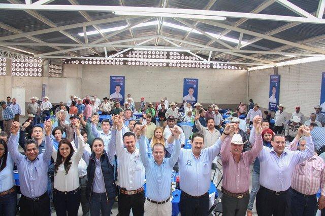 ¡Gerardo Salas dirigirá en el Congreso de la Unión los trabajos legislativos en materia del campo: Ricardo Anaya!