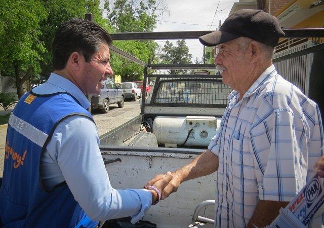 ¡Vecinos de la Col. Altavista respaldan campaña de Jorge López!