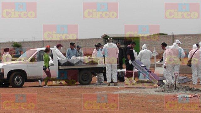 ¡La PGJEZ sepultó 18 cadáveres no identificados de la guerra del crimen organizado en Zacatecas!