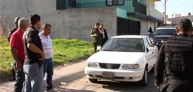 ¡Aseguraron el auto de los que asesinaron a un profesionista para asaltarlo en Aguascalientes!