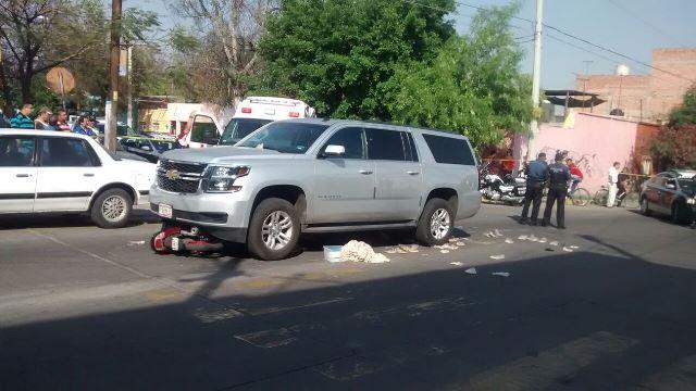 ¡Bebé de 9 meses de nacido murió aplastado por una camioneta en Aguascalientes!