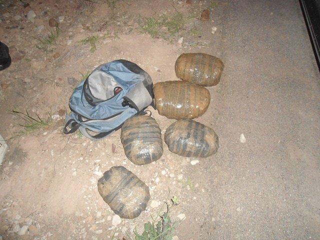 ¡Militares aseguraron mochila con 4 kilos de marihuana en Aguascalientes!