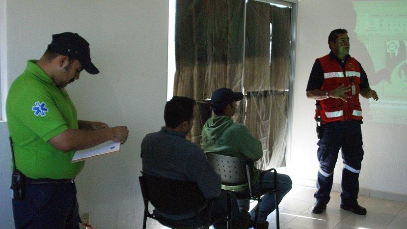 ¡Participa el municipio de Calera en la Semana Estatal de Salud en el trabajo!