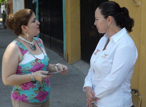 ¡Se compromete Emma Ramírez a garantizar el abasto y calidad del agua!