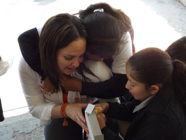¡Realiza Emma Ramírez gira de trabajo en pro de la niñez de Aguascalientes!