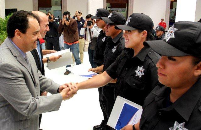 ¡Se integran 29 elementos a la Policía Preventiva y Vial del Municipio de Aguascalientes!