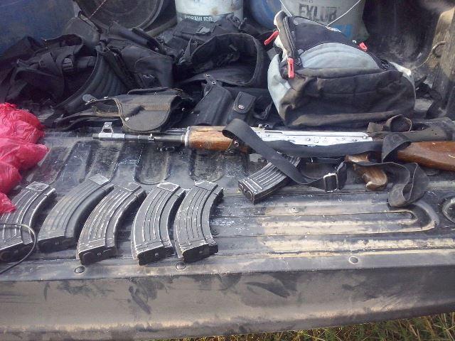 ¡Capturaron a 5 sicarios en Jalisco con un arsenal y droga!