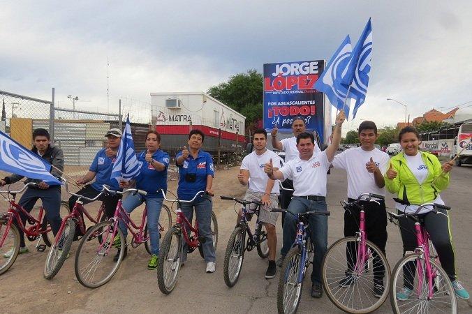 ¡Encabezó Jorge López rodada en el Distrito III por el Día Mundial de la Bicicleta!