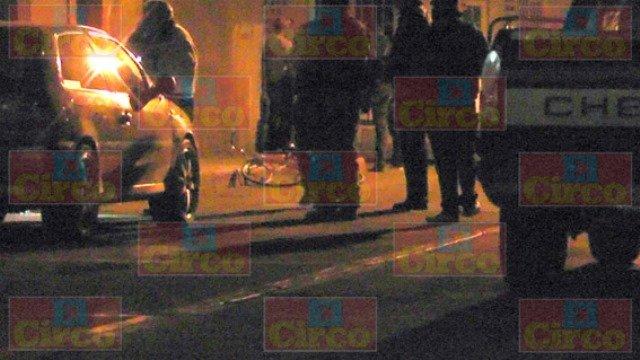 ¡Intentaron ejecutar a tiros a un ciclista en Fresnillo!
