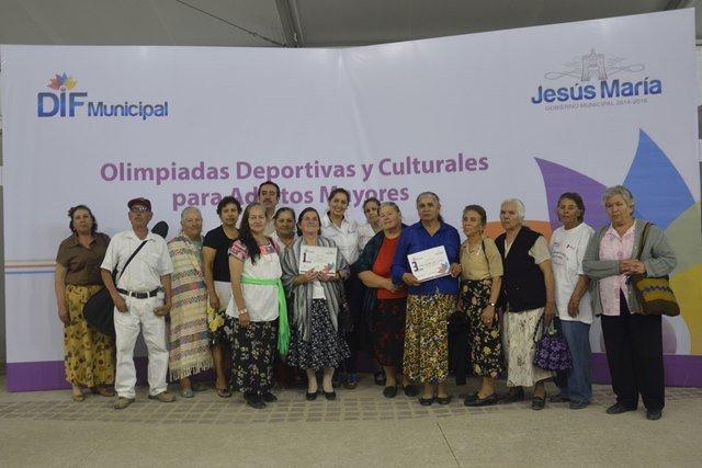 ¡Se realizaron los juegos deportivos y culturales para adultos mayores en Jesús María!