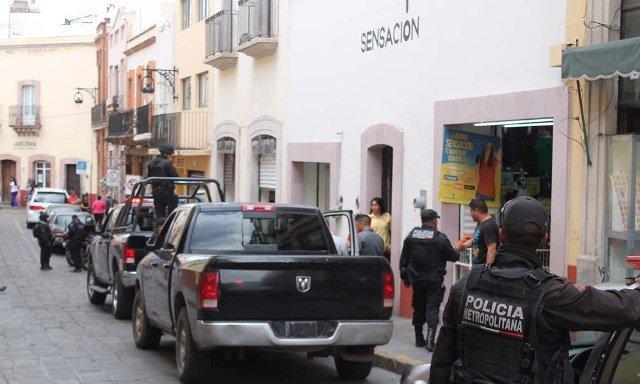 ¡Secuestraron al gerente de una tienda de ropa en Zacatecas!