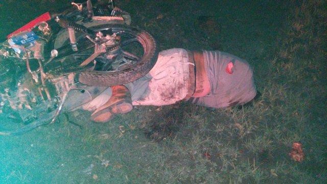 ¡Motociclista murió con la cabeza destrozada tras accidentarse en Aguascalientes!