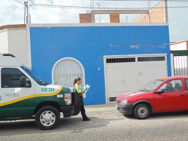 ¡Murió ahorcado de manera accidental un hombre en Aguascalientes!