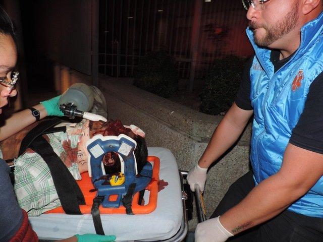 ¡Albañil ciclista murió tras ser embestido brutalmente por un auto en Aguascalientes!