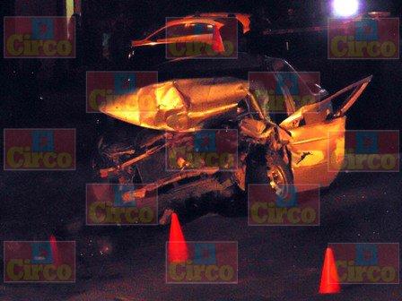 ¡Hombre muere en accidente automovilístico en San Ignacio, Ags.!