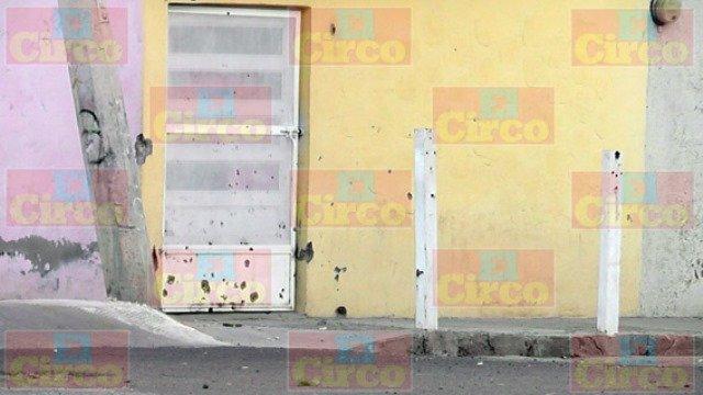 ¡Sicarios balearon una casa en Fresnillo y siembran el terror entre los moradores!