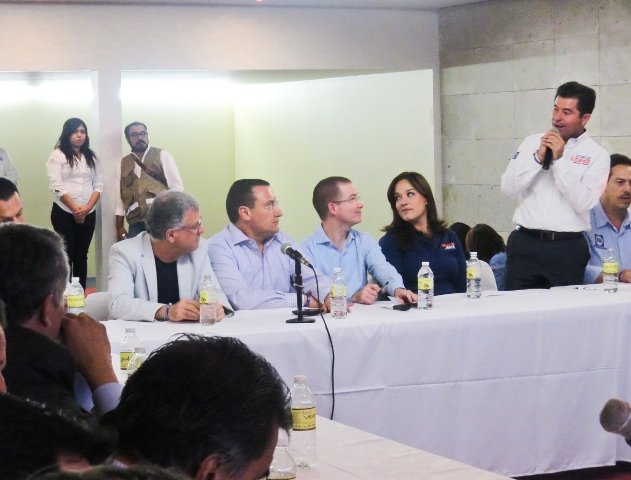 ¡Jorge López la mejor opción para darle continuidad a las reformas que están pendientes: Ricardo Anaya!
