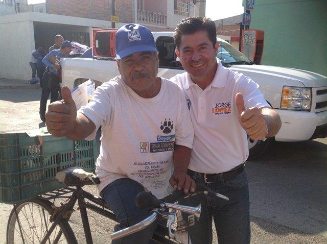 ¡Jorge López representará a la gente de Aguascalientes con propuestas reales y acordes a la situación actual!