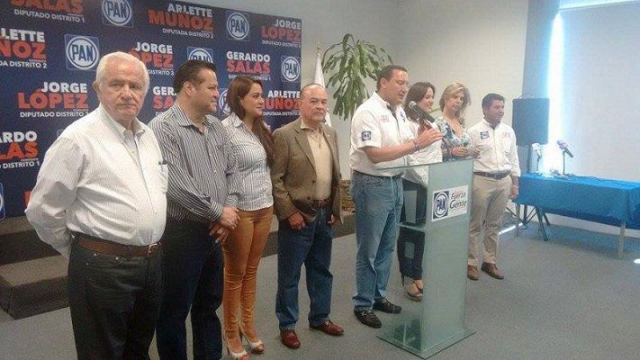 Liderazgos nacionales del PAN respaldan a candidatos de Ags.