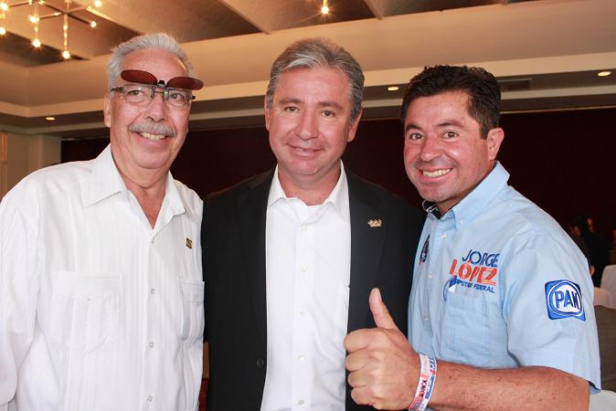 Reafirma Jorge López su compromiso con el sector productivo de Ags.