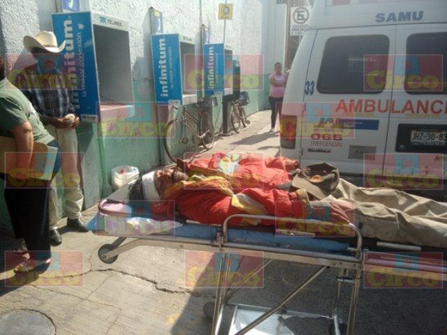 Ebrio sujeto fue atropellado por el tren en Lagos de Moreno y vive para contarlo