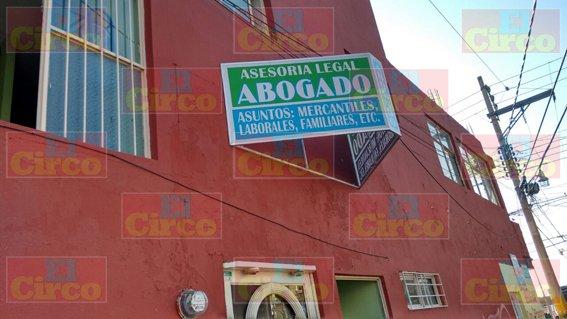 Sicarios balearon un despacho jurídico en Fresnillo