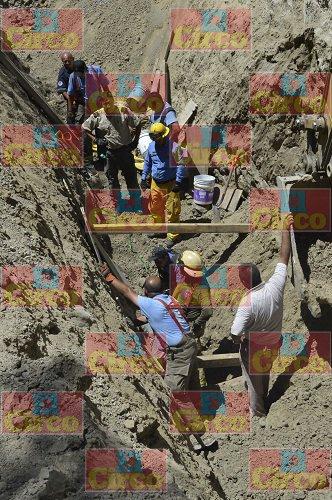 ¡Un muerto y un lesionado tras derrumbe de una construcción en Tlajomulco, Jal. !