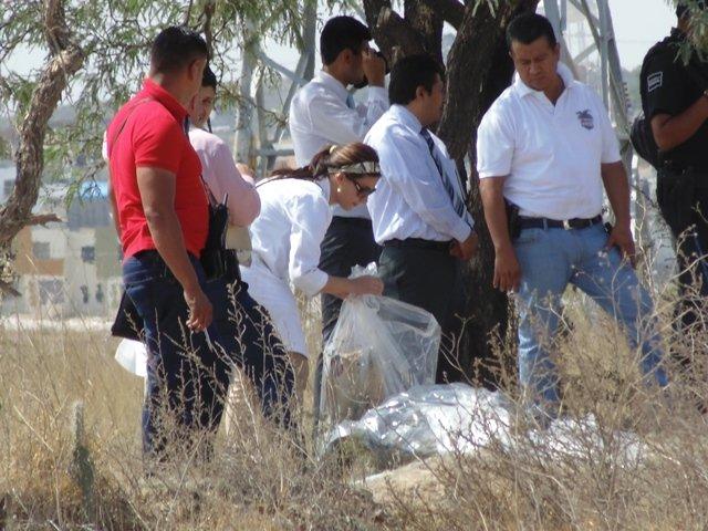 ¡FOTOGALERIA/ Ejecutaron y decapitaron a un hombre en Aguascalientes!