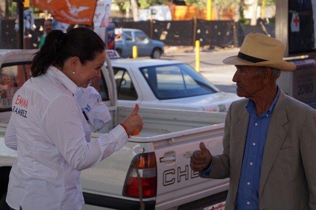 Con el voto responsable, México podrá  sacudir la corrupción en el poder: Emma Ramírez