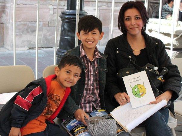 ¡MunicipioAgs fomenta la lectura en eventos de la FNSM!