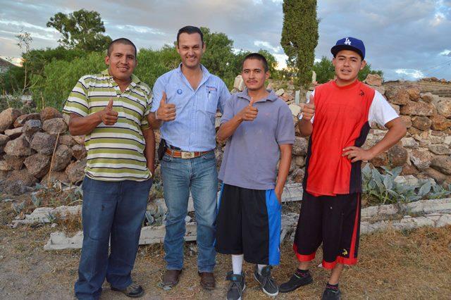 Legislará Gerardo Salas a favor de más y mejores empleo para la población del distrito I