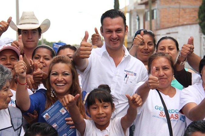 ¡Se compromete Gerardo Salas a apoyar al campo de Ags. y de México!