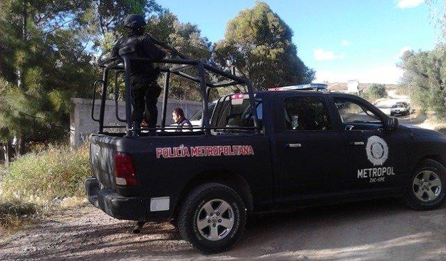 Comando armado intentó ejecutar a balazos a un elemento de la METROPOL en Zacatecas