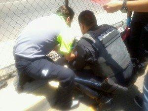 LESIONADO GRAVE ATROPELLADO BLVD A ZACATECAS FRENTE CC AGROPECUARIO (3)