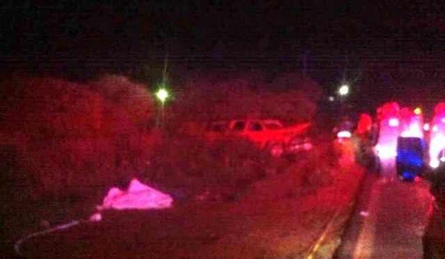 ¡Un hombre se mató tras volcar su camioneta en Zacatecas!