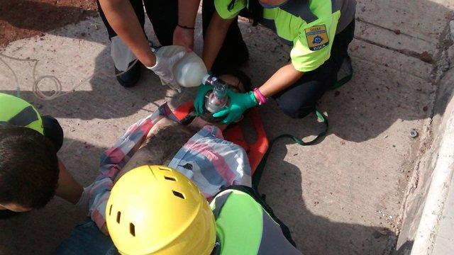 Fatal accidente de 3 estudiantes en Aguascalientes: uno murió y 2 están lesionados