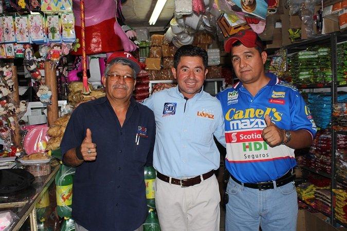 Jorge López se asume como ganador en el Distrito III
