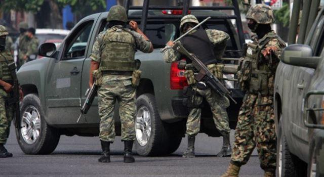 """¡""""El Becerra"""", líder de banda de secuestradores, se les escapó a marinos y policías estatales en Calera!"""