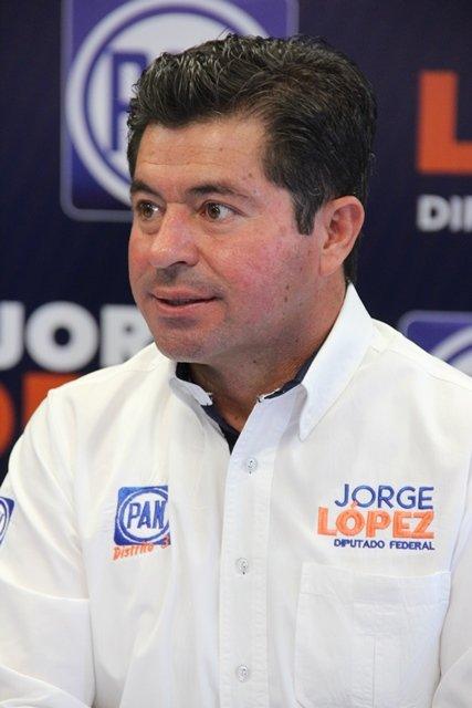 El PAN está fuerte y renovado: Jorge López Martín