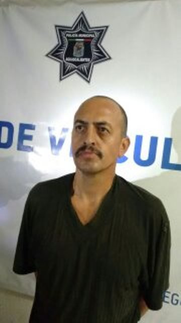 Policías municipales capturaron a un peligroso pistolero en Aguascalientes