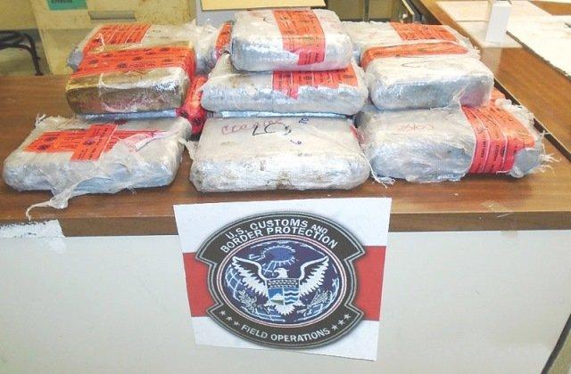 Detuvieron a un aguascalentense con un cargamento de 30 kilos de droga en Estados Unidos
