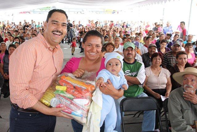 Apoya Gobierno Municipal de Aguascalientes la alimentación de familias vulnerables