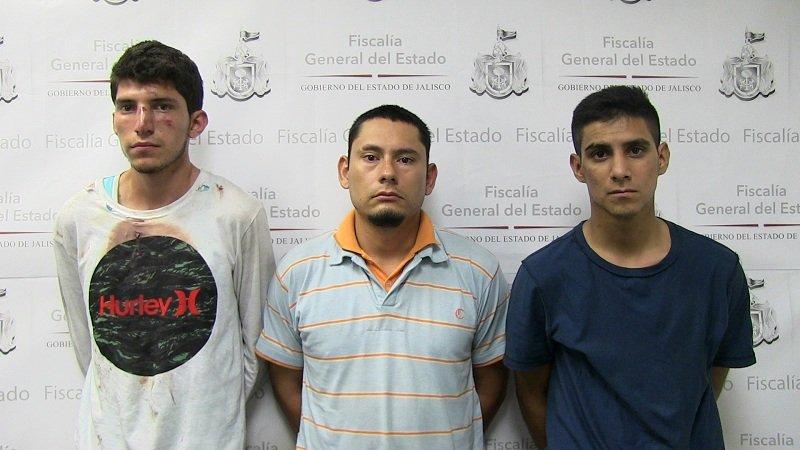 ¡Consignan a 3 sujetos que asaltaron una casa de empeño y préstamos en Guadalajara!