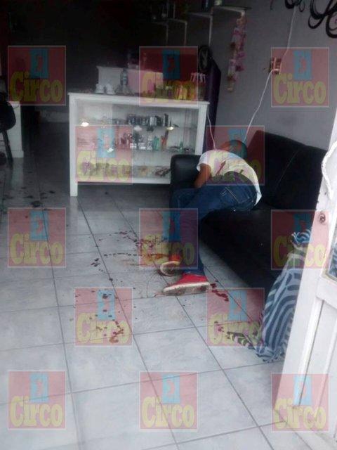 Ejecutaron a un joven dentro de una estética en Valparaíso, Zacatecas