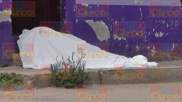 """¡FOTOGALERIA/ Ejecutaron a tiros a """"El Chamaco"""" en Fresnillo!"""