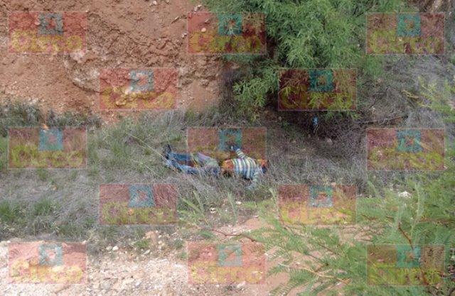 Hallaron a un hombre ejecutado a balazos en un arroyo en Fresnillo