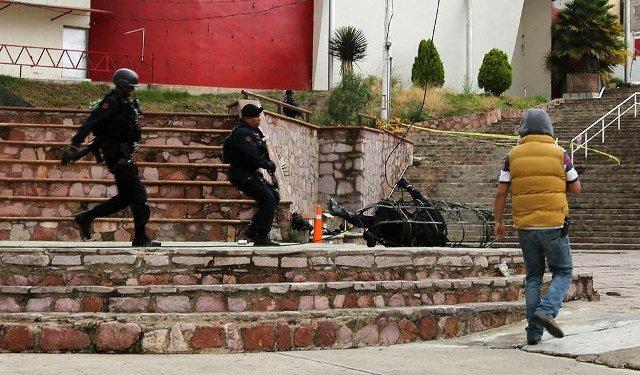 En medio año regresará a la PEP el elemento que cayó del helicóptero: Jesús Pinto Ortiz