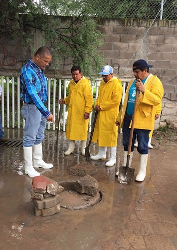 Constató Antonio Arámbula afectaciones por lluvias en Jesús María