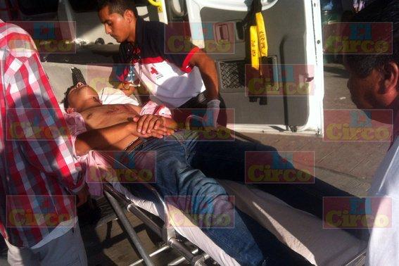 Joven resultó herido con arma blanca tras una riña en Lagos de Moreno